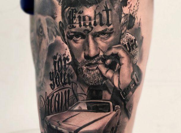 Tatuaje Carlos carlos fabra – cosafina tattoo